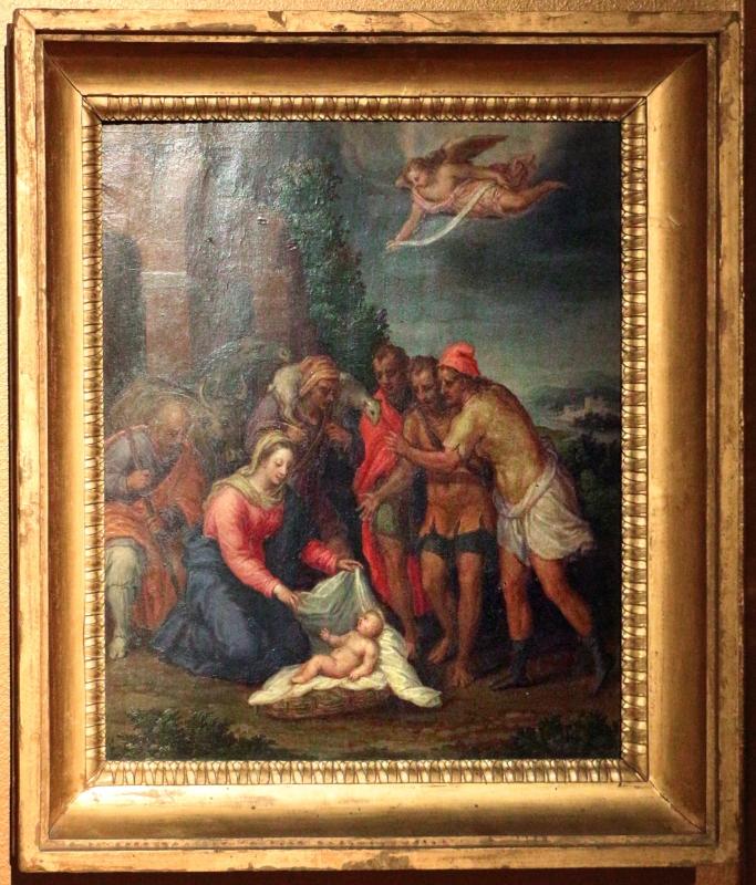 Bastianino, adorazione dei pastori, da s. antonio in polesine a ferrara - Sailko - Ferrara (FE)