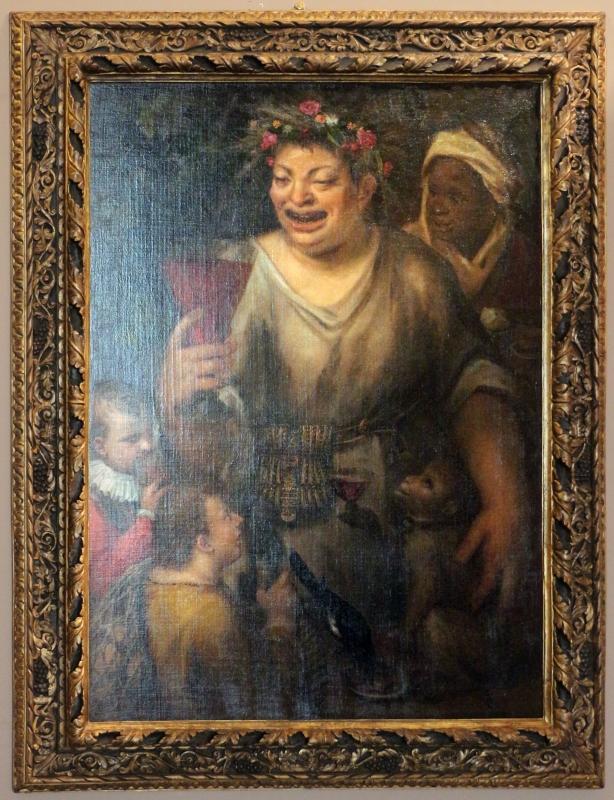 Bastianino, allegoria con bacco, 1555-1600 ca. 01 - Sailko - Ferrara (FE)
