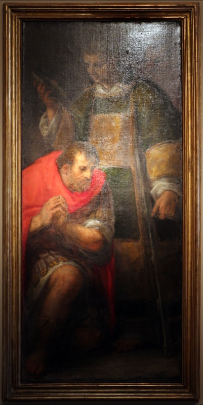 Bastianino, battesimo di san romano, 1580-90 ca. 01 da san romano a ferrara - Sailko - Ferrara (FE)