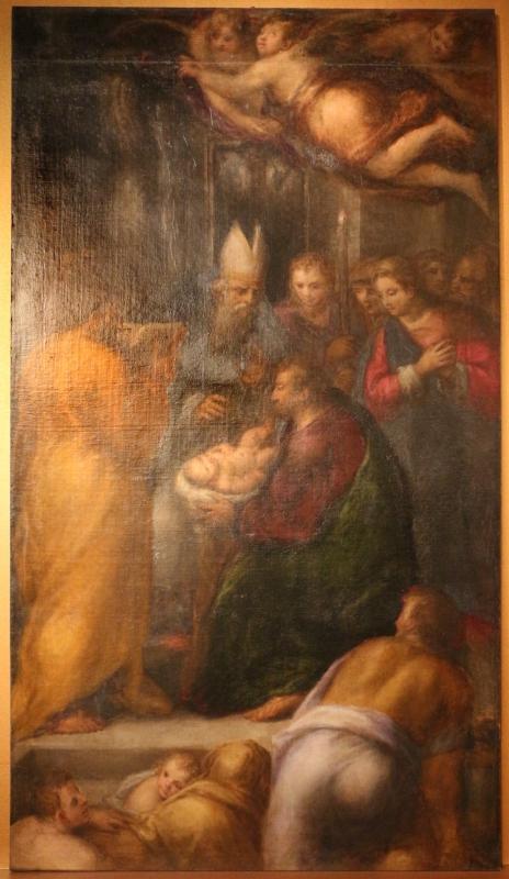 Bastianino, circoncisione di gesù, 1594-99 ca., da chiesa della conversione di s. paolo a ferrara - Sailko - Ferrara (FE)