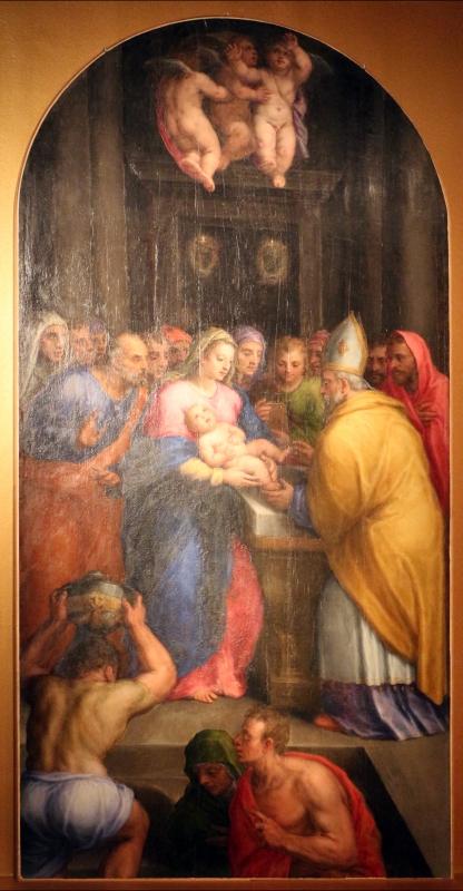 Bastianino, circoncisione, 1562 ca., da duomo di ferrara 01 - Sailko - Ferrara (FE)