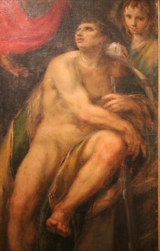 Bastianino, conversione di san romano, 1580-90 ca. 02 da san romano a ferrara - Sailko - Ferrara (FE)