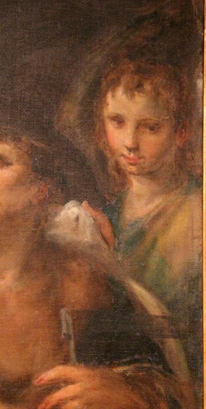 Bastianino, conversione di san romano, 1580-90 ca. 03 angelo da san romano a ferrara - Sailko - Ferrara (FE)