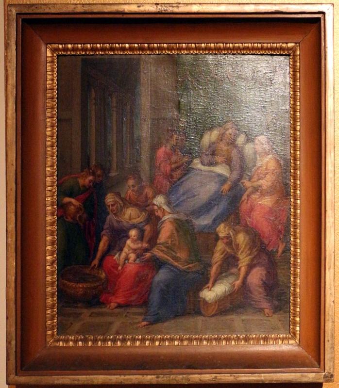 Bastianino, natività di Maria, da s. antonio in polesine a ferrara 02 - Sailko - Ferrara (FE)