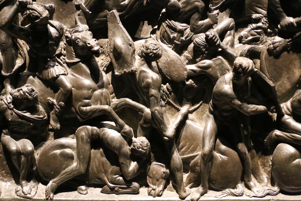 Bertoldo di giovanni, scena di battaglia, 1480 ca. (bargello) 03 - Sailko - Ferrara (FE)