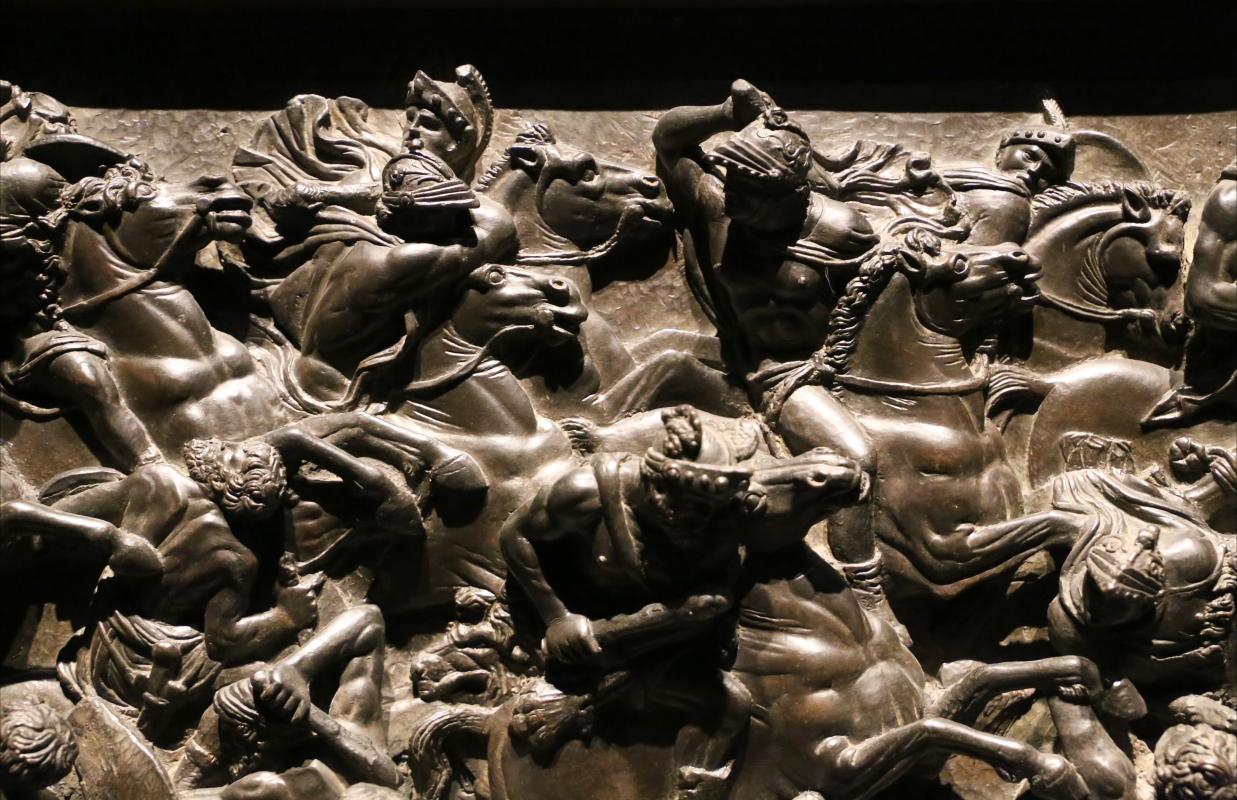 Bertoldo di giovanni, scena di battaglia, 1480 ca. (bargello) 04 - Sailko - Ferrara (FE)