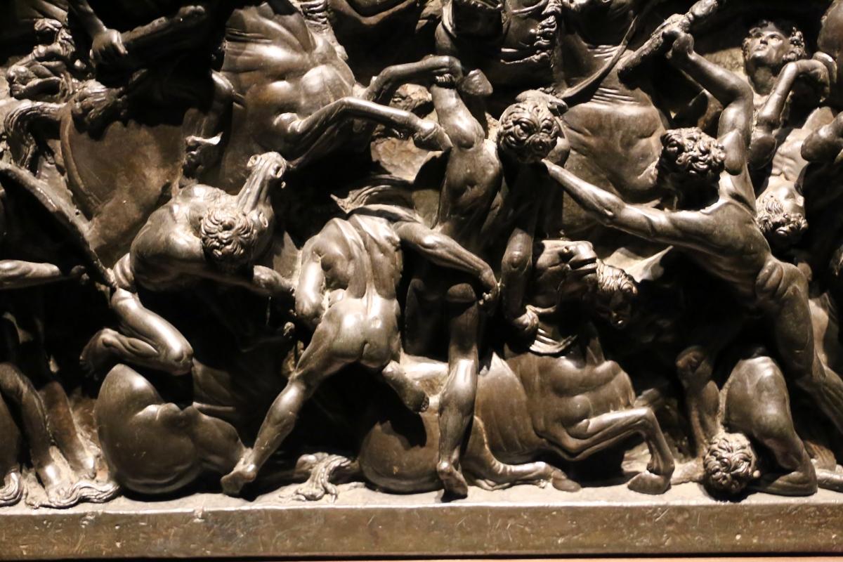 Bertoldo di giovanni, scena di battaglia, 1480 ca. (bargello) 05 - Sailko - Ferrara (FE)