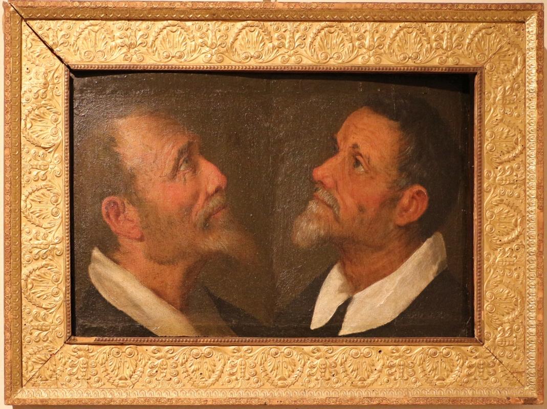 Camillo ricci (attr.), due ritratti di profilo, 1620-25 ca - Sailko - Ferrara (FE)