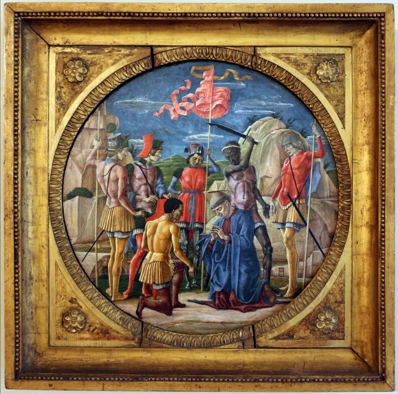 Cosmè tura, martirio di san maurelio, 1480, da s. giorgio a ferrara, 01 - Sailko - Ferrara (FE)