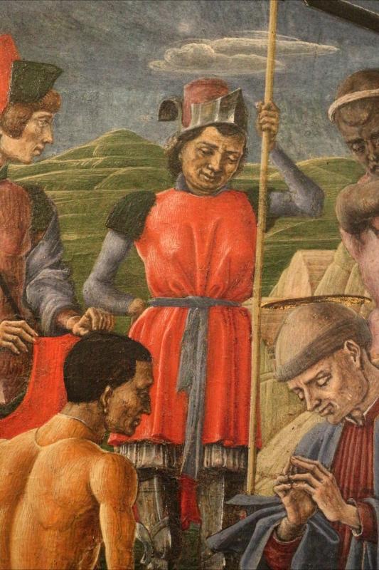 Cosmè tura, martirio di san maurelio, 1480, da s. giorgio a ferrara, 04 - Sailko - Ferrara (FE)