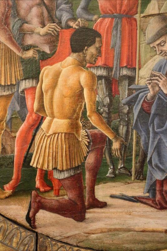 Cosmè tura, martirio di san maurelio, 1480, da s. giorgio a ferrara, 05 - Sailko - Ferrara (FE)