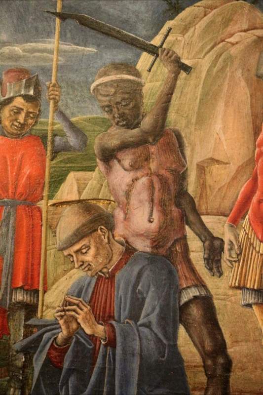 Cosmè tura, martirio di san maurelio, 1480, da s. giorgio a ferrara, 06 boia - Sailko - Ferrara (FE)