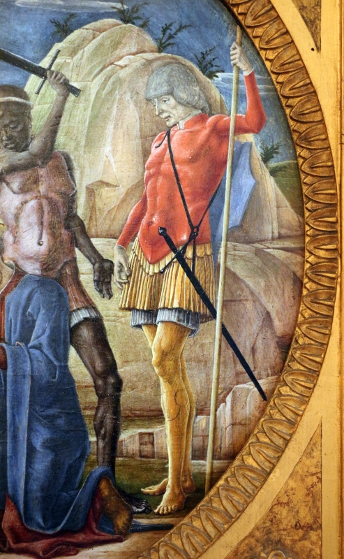 Cosmè tura, martirio di san maurelio, 1480, da s. giorgio a ferrara, 07 - Sailko - Ferrara (FE)
