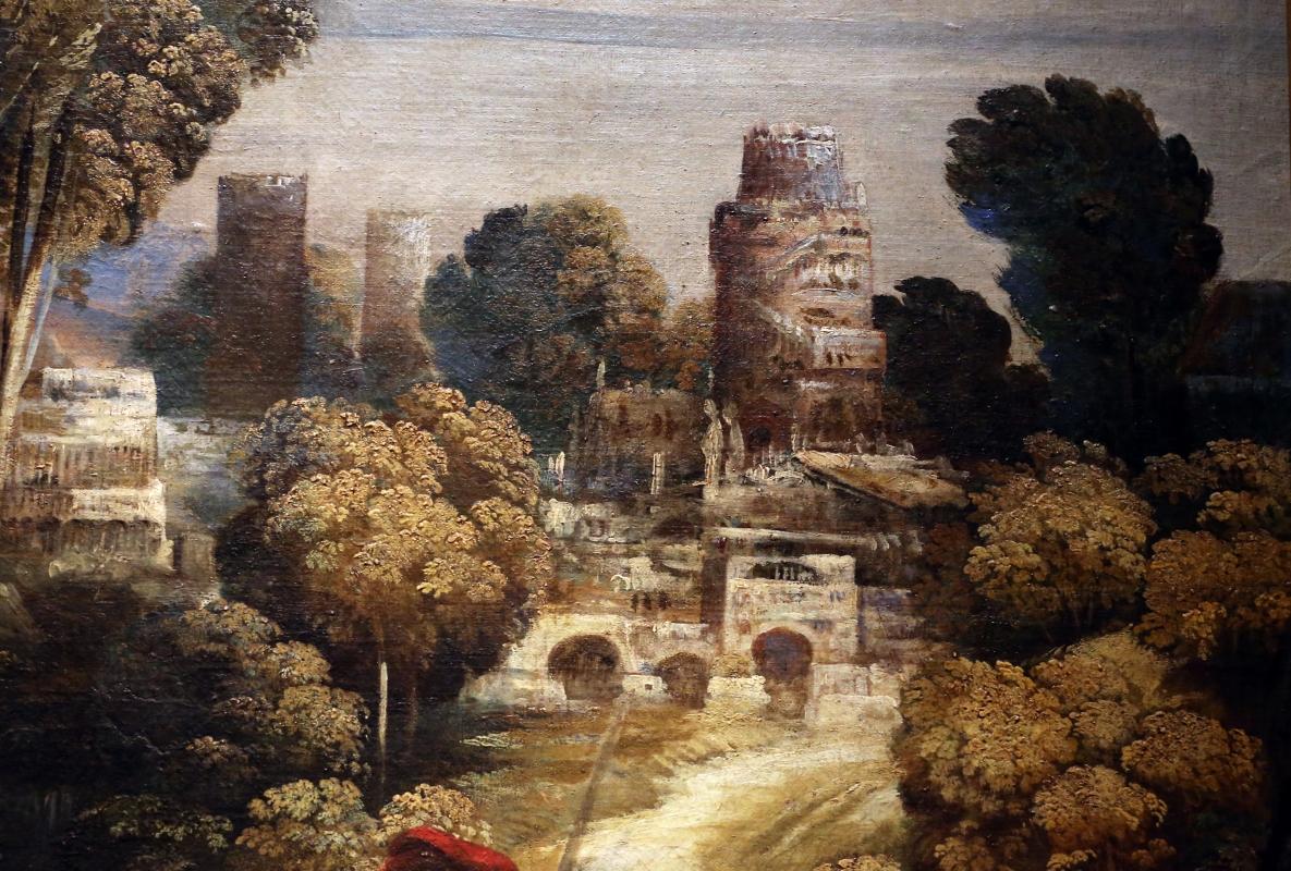 Dosso dossi, melissa, 1518 ca. 09 paesaggio - Sailko - Ferrara (FE)