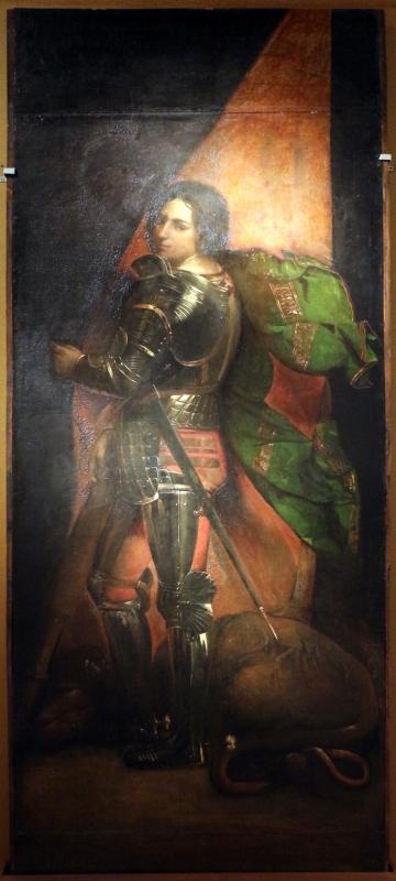 Dosso dossi, san giorgio, 1513-20, dal polittico costabili in s.andrea a ferrara 01 - Sailko - Ferrara (FE)