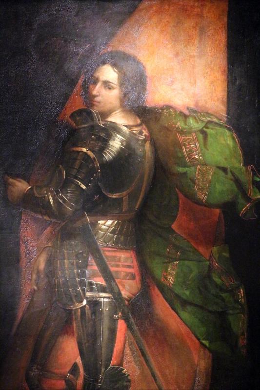 Dosso dossi, san giorgio, 1513-20, dal polittico costabili in s.andrea a ferrara 02 - Sailko - Ferrara (FE)