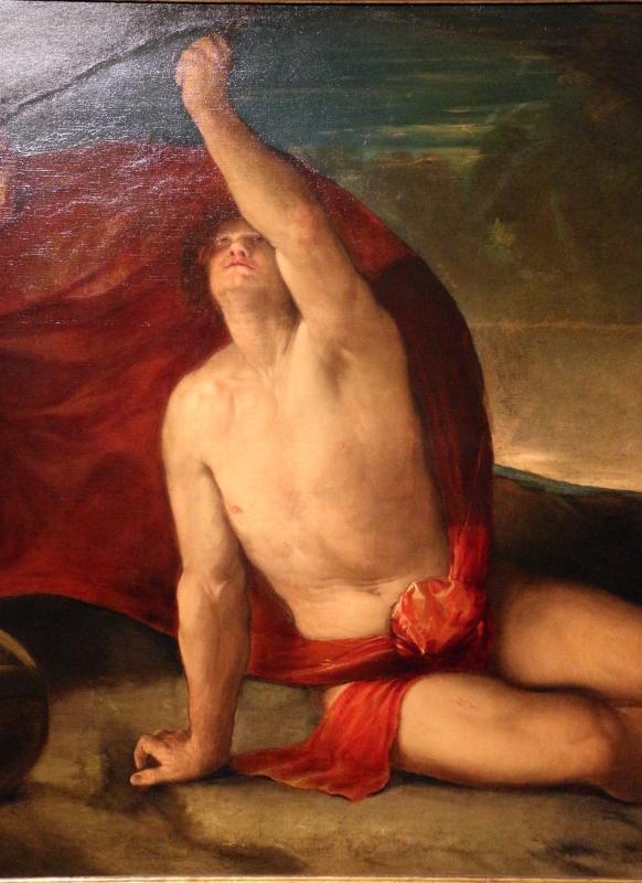 Dosso dossi, sapiente con compasso e globo, 1520-25 ca. 03 - Sailko - Ferrara (FE)