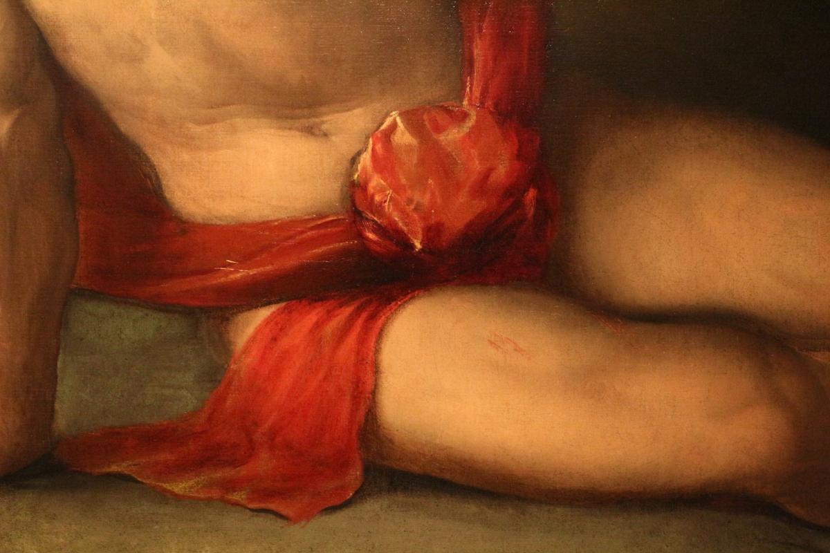 Dosso dossi, sapiente con compasso e globo, 1520-25 ca. 05 - Sailko - Ferrara (FE)