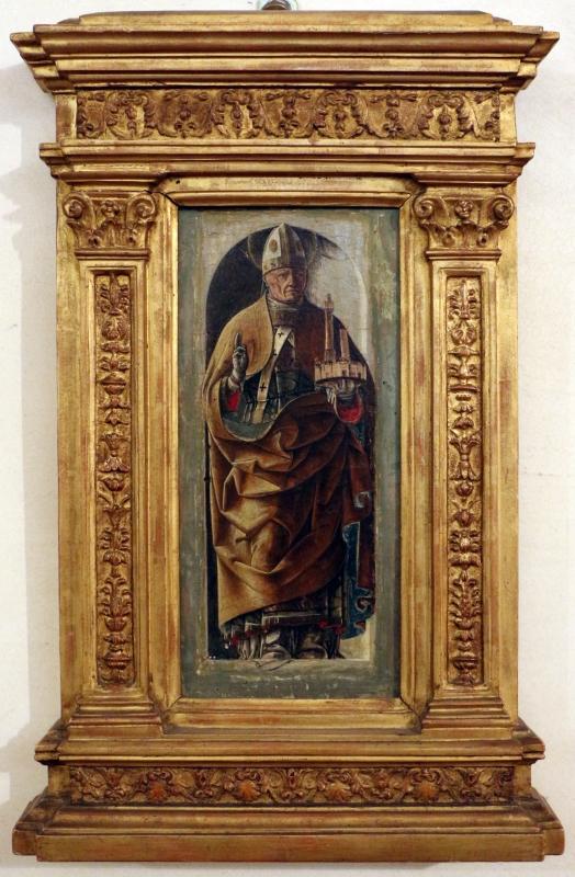 Ercole de' roberti, san petronio, dal polittico griffoni, 1472-1473 circa 01 - Sailko - Ferrara (FE)