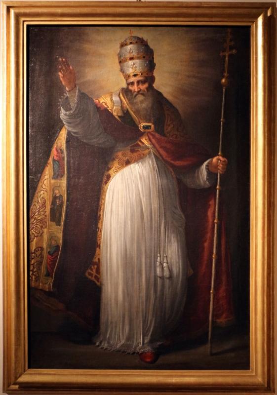 Ercole sarti, san silvestro papa, 1600-30 ca. (ferrara) - Sailko - Ferrara (FE)