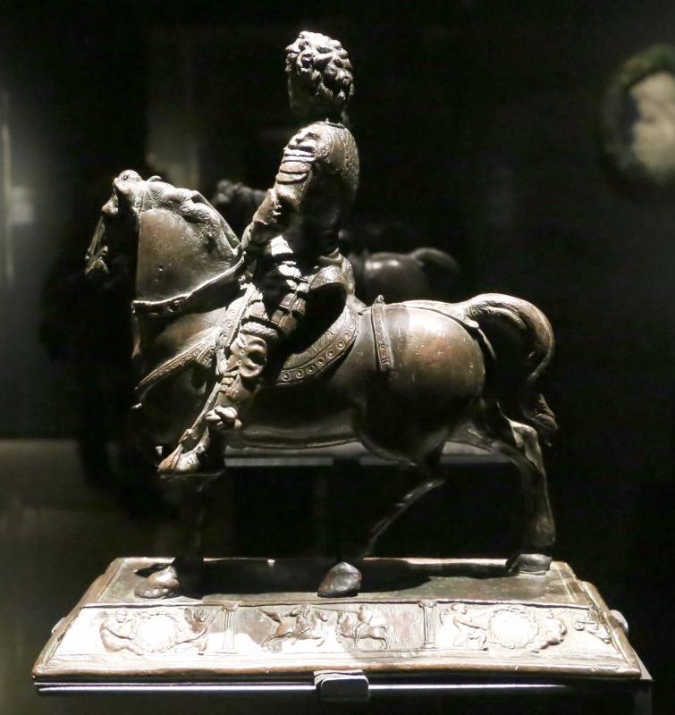 Filarete, ettore a cavallo, 1456 (madrim, man) 02 - Sailko - Ferrara (FE)