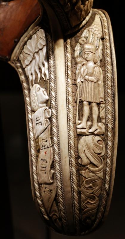 Friuli o tirolo, sella da parata con le armi di ercole I d'este, post 1474 (galleria estense) 07 - Sailko - Ferrara (FE)