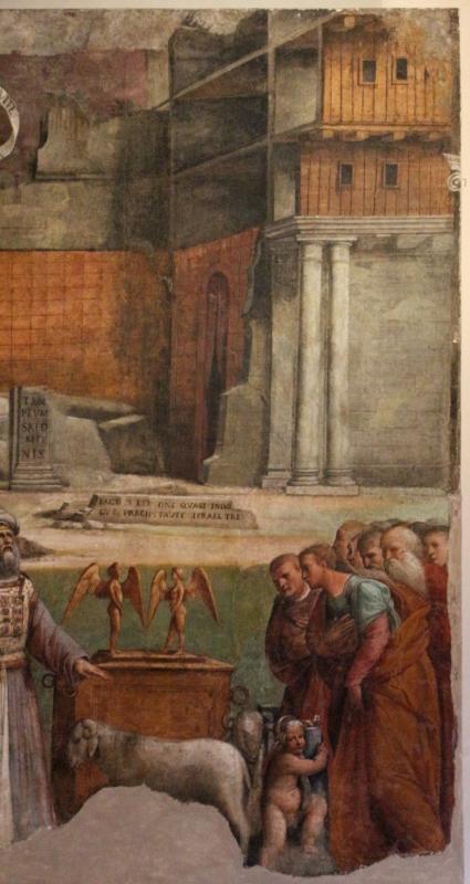 Garofalo, allegoria dell'antico e nuovo testamento con trionfo della chiesa sulla sinagoga, 1523, da s. andrea a ferrara 11 - Sailko - Ferrara (FE)