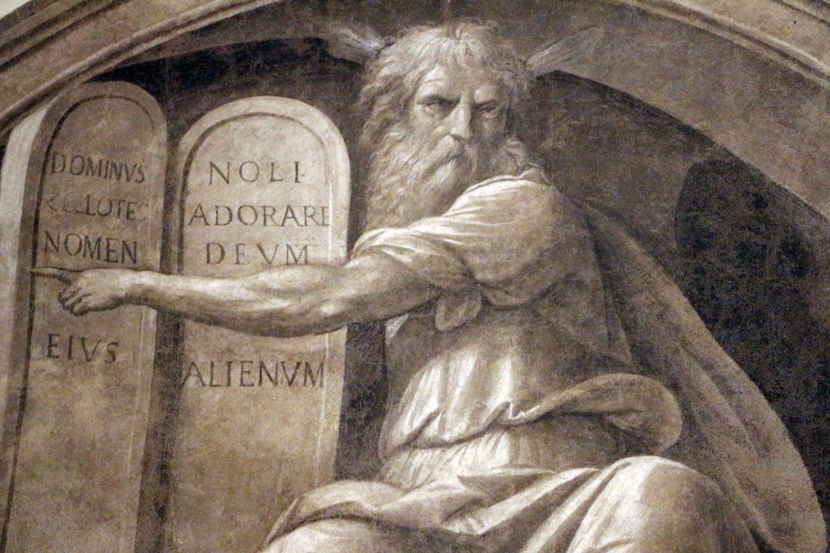 Garofalo, mosè con le tavole della legge, da s. spirito a ferrara 02 - Sailko - Ferrara (FE)