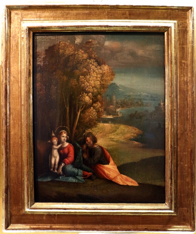 Garofalo, riposo durante la fuga in egitto, 1515-30 ca. 01 - Sailko - Ferrara (FE)