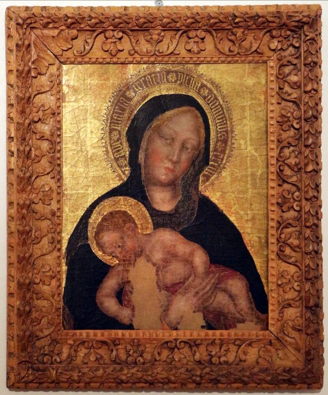 Gentile da fabriano, madonna col bambino, 1400-1405 circa 01 - Sailko - Ferrara (FE)