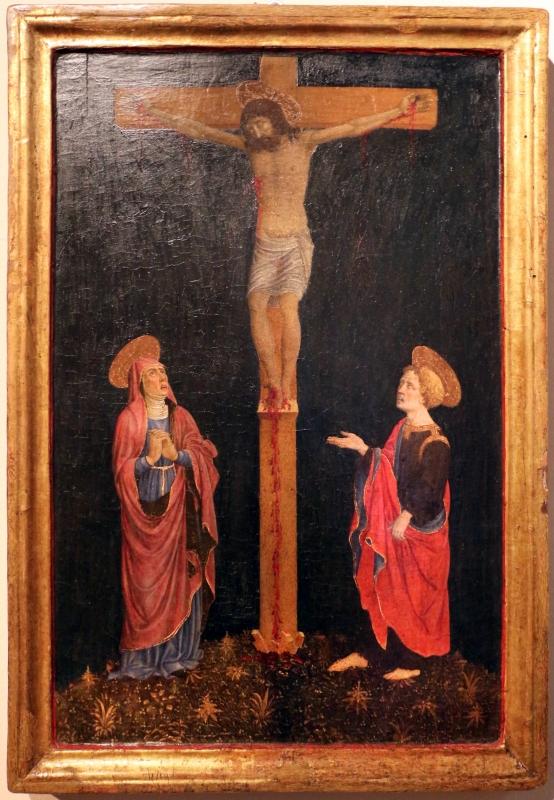 Giovan francesco da rimini, crocifissione, 1450-70 ca. 01 - Sailko - Ferrara (FE)