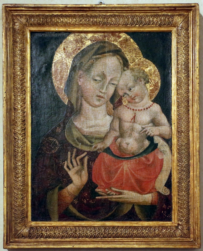 Giovanni da modena, madonna col bambino, 1400-50 ca - Sailko - Ferrara (FE)