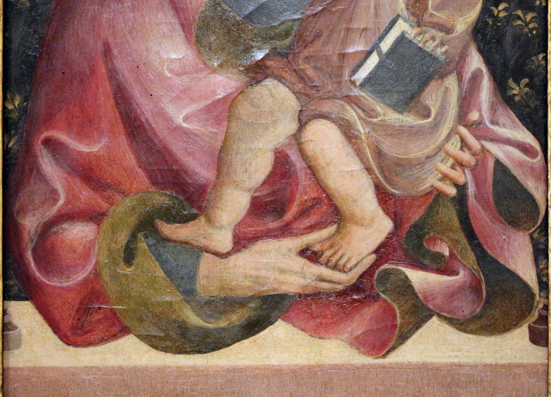 Giovanni da modena, madonna col bambino, 1410-50 ca. 02 - Sailko - Ferrara (FE)