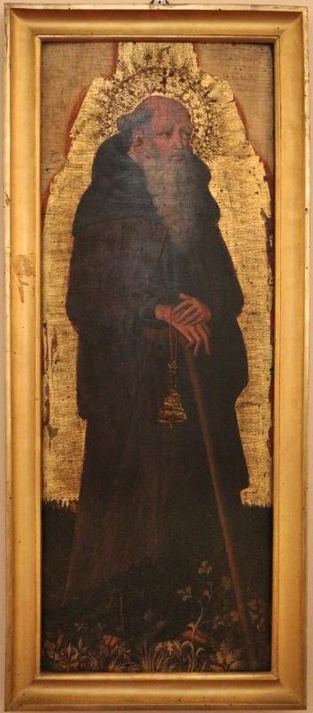 Giovanni da modena, santi antonio abate e domenico, 1410-50 ca. 02 - Sailko - Ferrara (FE)