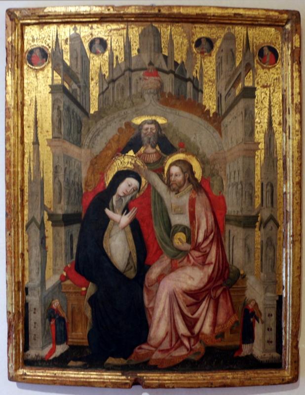 Giovanni di niccolò bellini (attr.), incoronazione della vergine, 1400-50 ca. 01 - Sailko - Ferrara (FE)