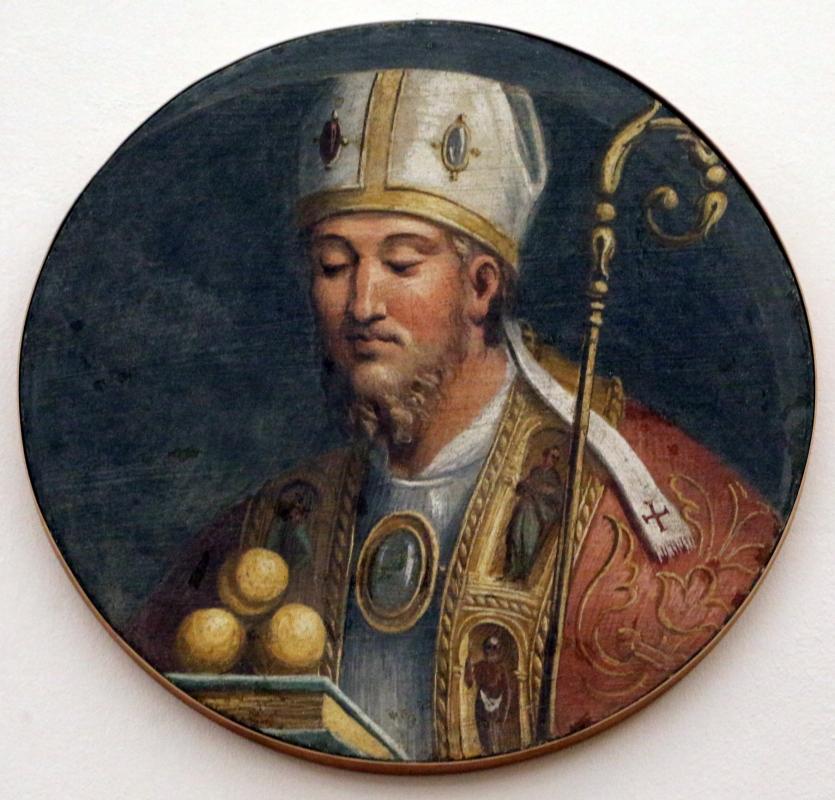 Girolamo da carpi, san nicola di bari, dal convento di s. giorgio a ferrara - Sailko - Ferrara (FE)