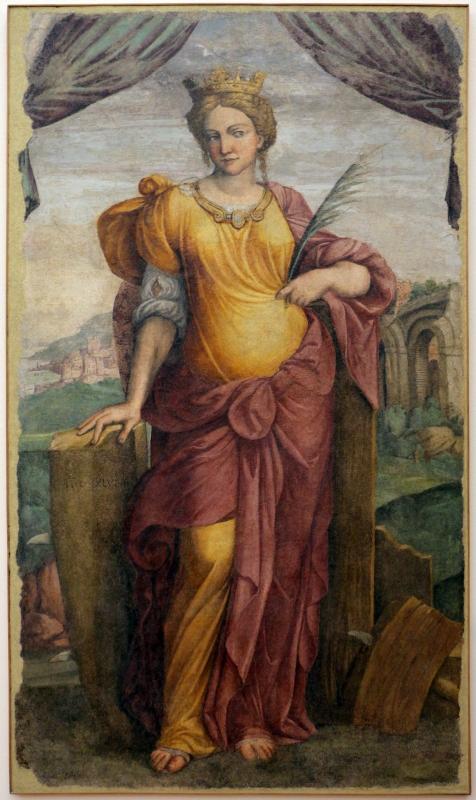 Girolamo da carpi, santa caterina, 1554, da s. anna a ferrara - Sailko - Ferrara (FE)