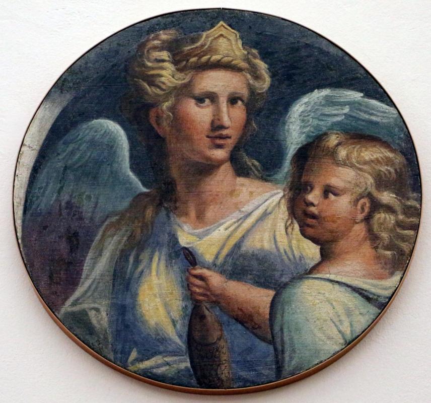 Girolamo da carpi, tobiolo e l'angelo, dal convento di s. giorgio a ferrara - Sailko - Ferrara (FE)