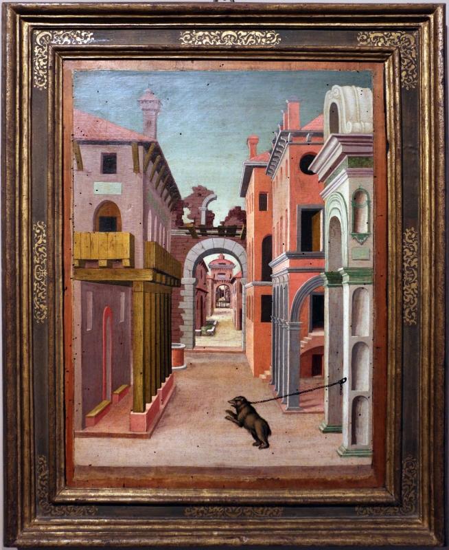 Girolamo da cotignola, due vedute di città, 1520, 06 - Sailko - Ferrara (FE)
