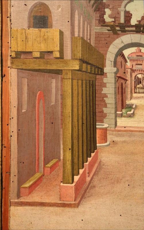 Girolamo da cotignola, due vedute di città, 1520, 07 - Sailko - Ferrara (FE)