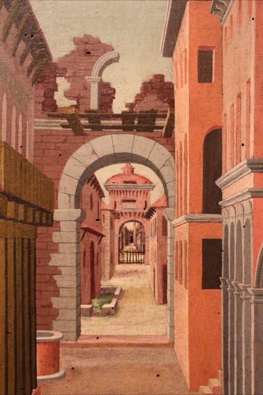 Girolamo da cotignola, due vedute di città, 1520, 08 - Sailko - Ferrara (FE)