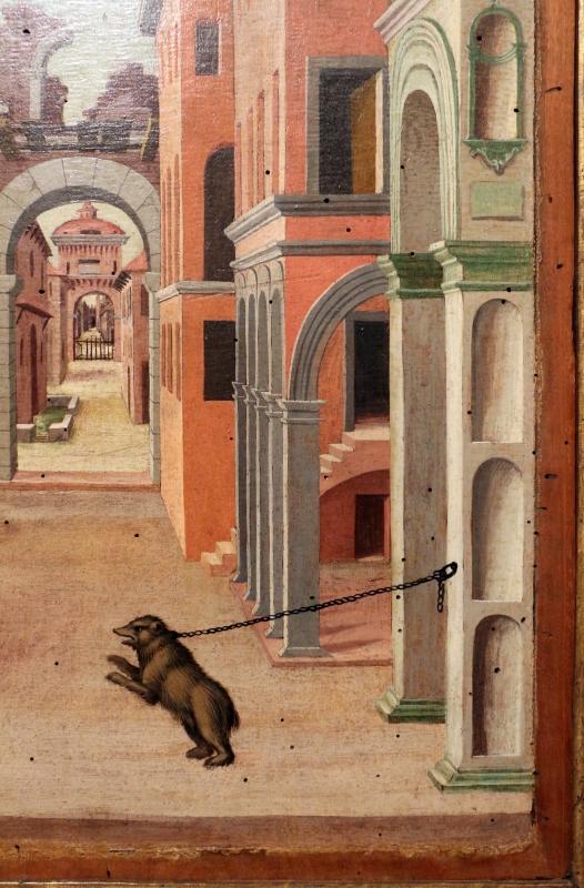 Girolamo da cotignola, due vedute di città, 1520, 10 - Sailko - Ferrara (FE)
