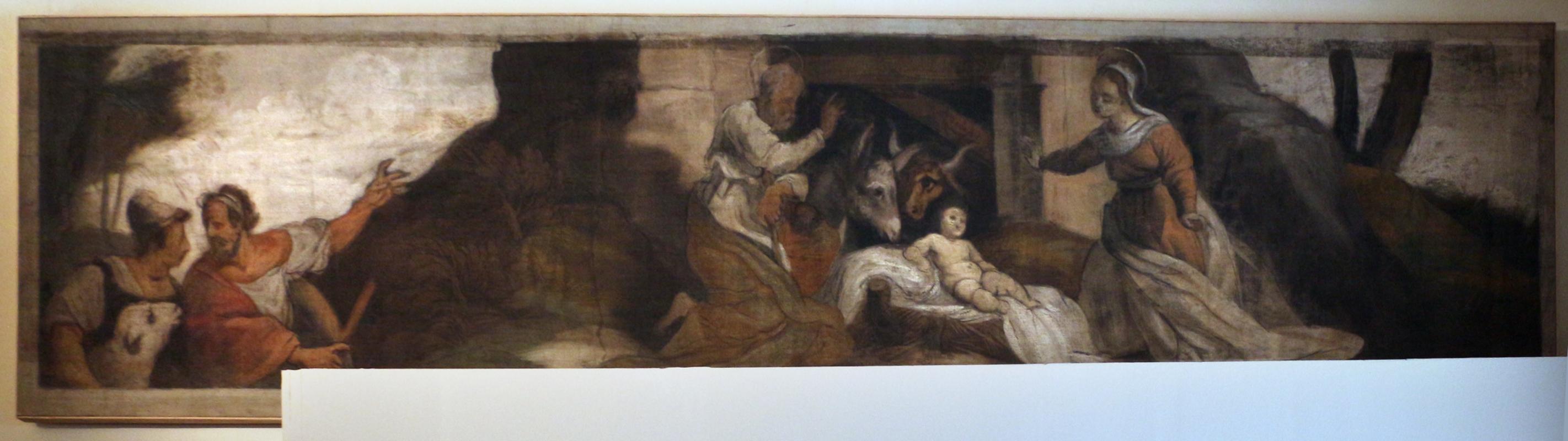 Giuseppe mazzuoli detto il bastardo, adorazione del bambino, 1579-80, dalla chiesa del gesù a ferrara 01 - Sailko - Ferrara (FE)