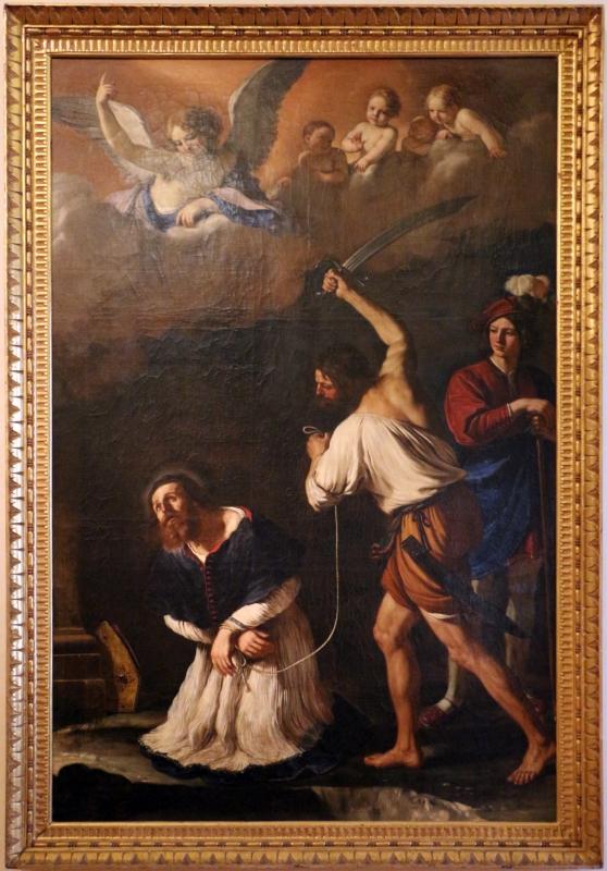 Guercino, miracolo di san maurelio, da s. giorgio a ferrara, 01 - Sailko - Ferrara (FE)