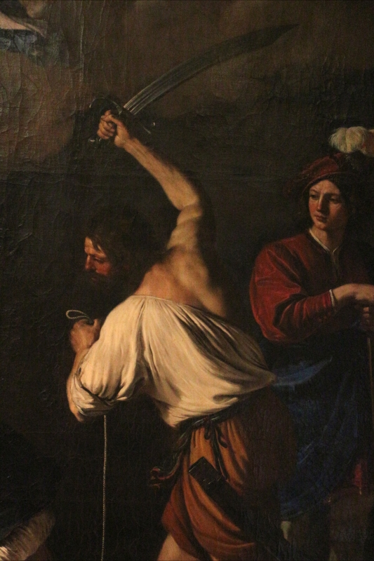 Guercino, miracolo di san maurelio, da s. giorgio a ferrara, 03 - Sailko - Ferrara (FE)