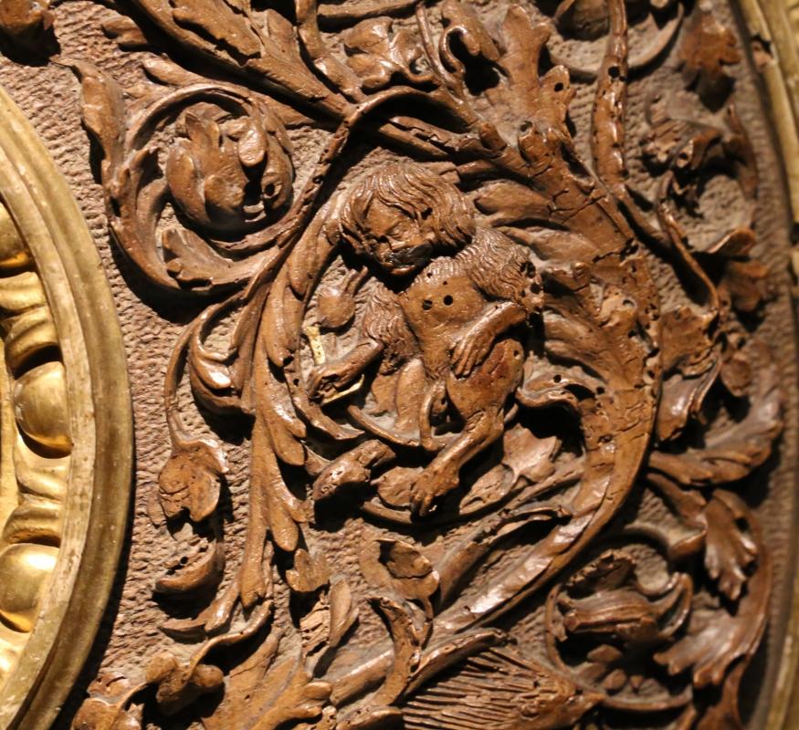 Intagliatore attivo a ferrara, cornice per specchio, 1505-10 ca. (v&a) 06 - Sailko - Ferrara (FE)