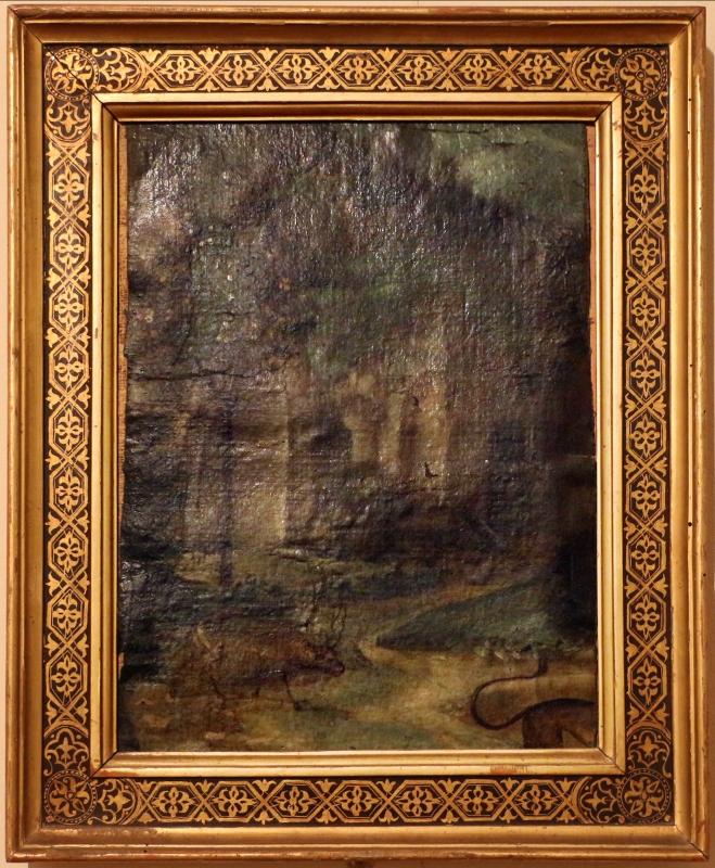 Italia settentrionale, santa maria egiziaca nel deserto con frammenti di paesaggio e un san girolamo, 1500-15 ca., 02 - Sailko - Ferrara (FE)