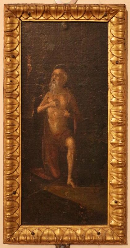 Italia settentrionale, santa maria egiziaca nel deserto con frammenti di paesaggio e un san girolamo, 1500-15 ca., 03 - Sailko - Ferrara (FE)