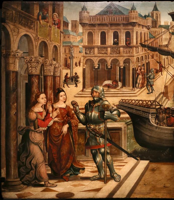 Maestro dei cassoni campana, teseo e il minotauro, 1510-15 ca. (avignone, petit palais) 02 - Sailko - Ferrara (FE)