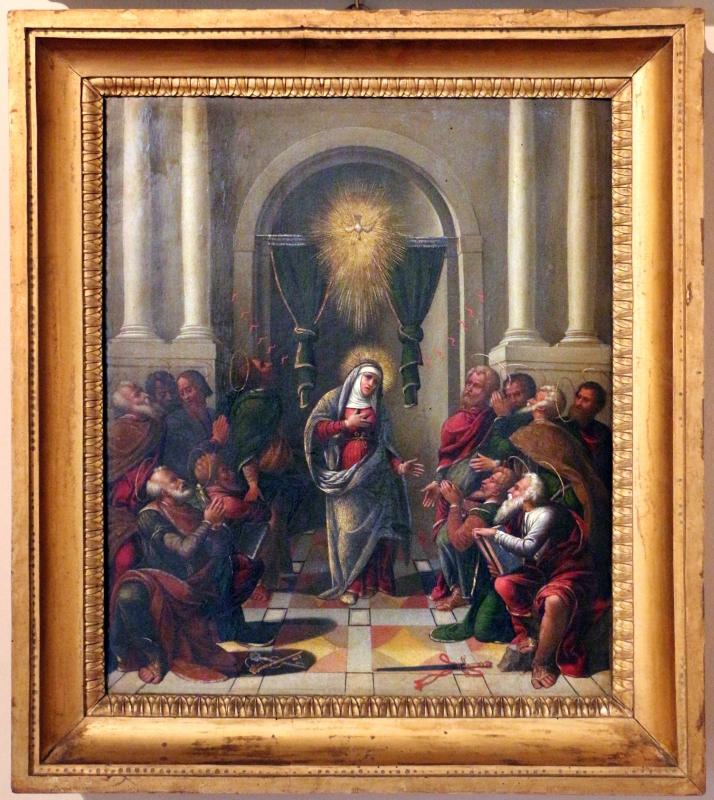 Maestro dei dodici apostoli, pentecoste, ferrara 1539 - Sailko - Ferrara (FE)